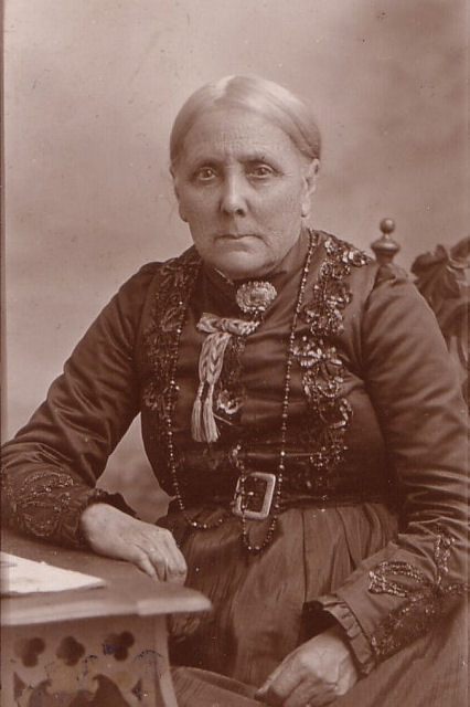 Picture of Ann Brown c1900